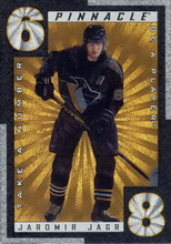 Jagr Jaromir 1997 Pinnacle Be A Player TN20