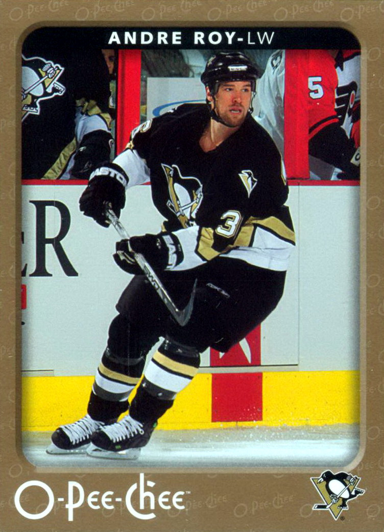 Andre Roy Player S Cards Since 2005 2007 Penguins
