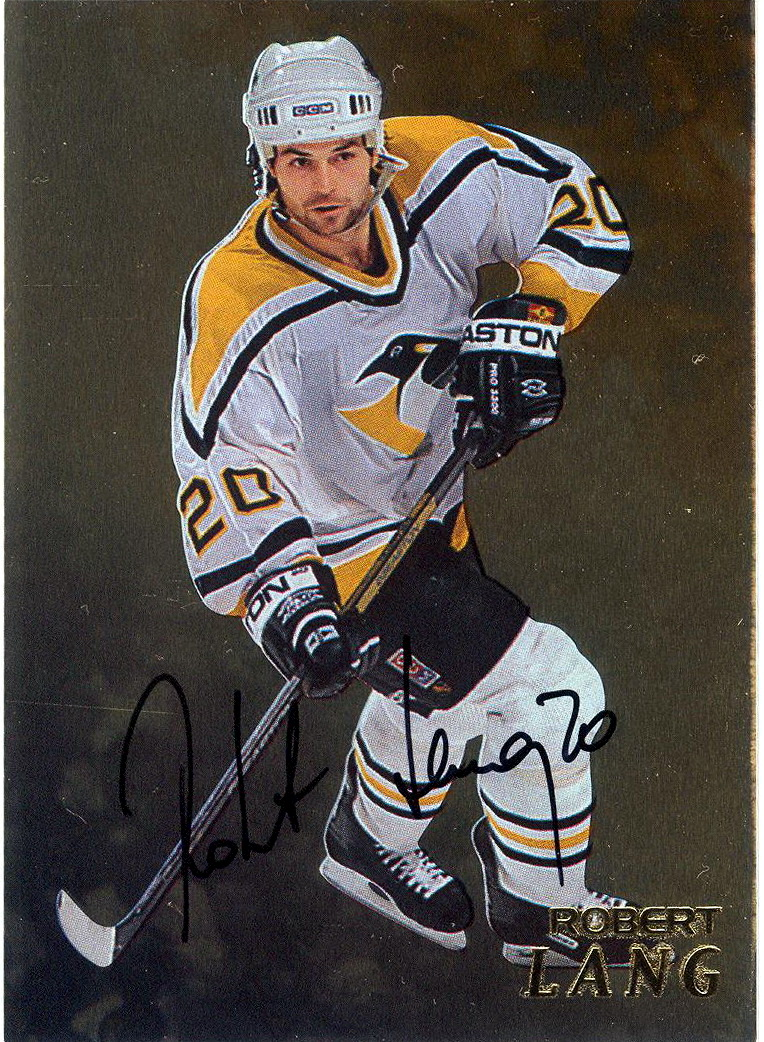 robert lang player 39 s cards since 1997 2003 penguins hockey. Black Bedroom Furniture Sets. Home Design Ideas