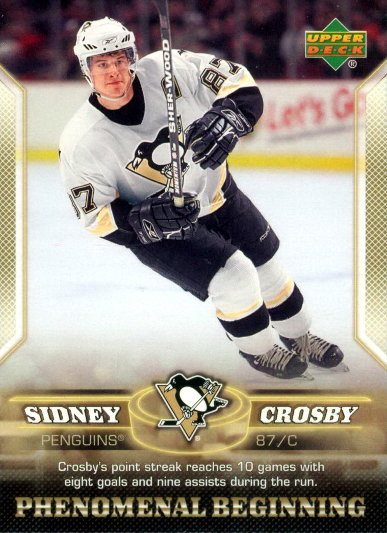 78828e4b8 Sidney Crosby - Player s cards since 2004 - 2016