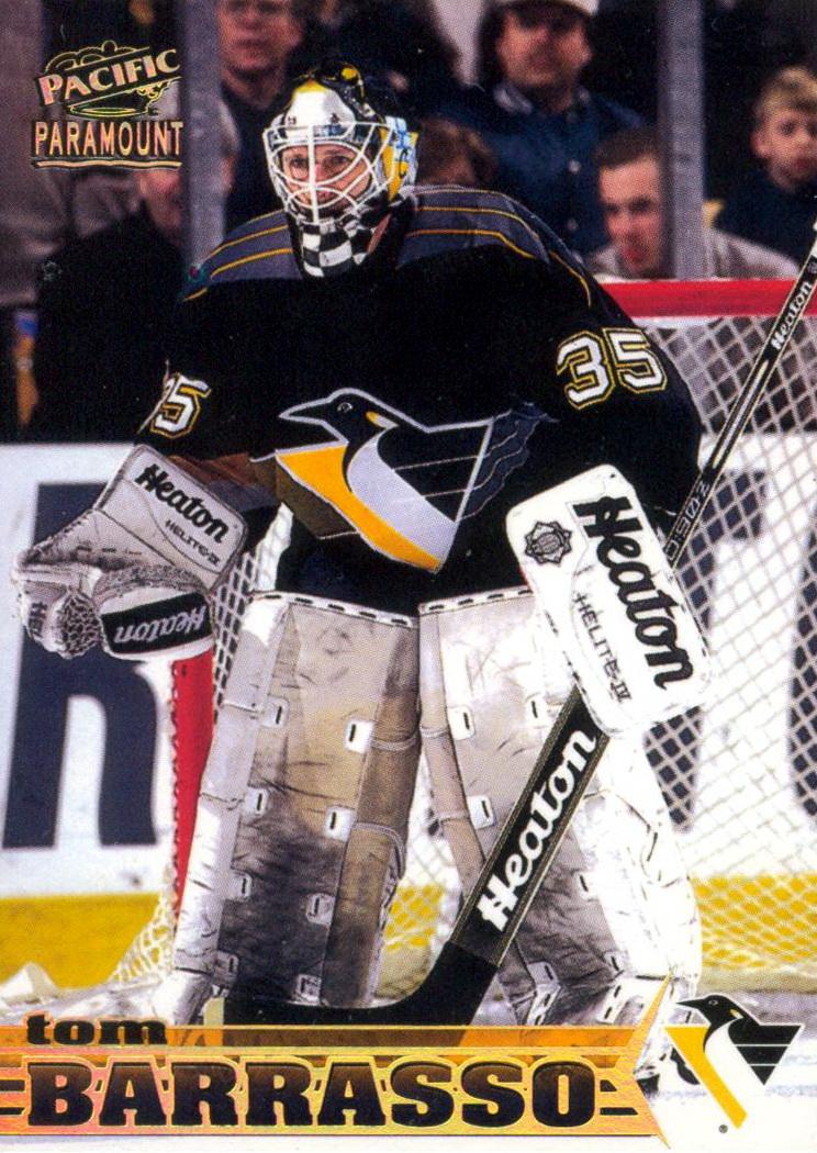 Tom Barrasso Player S Cards Since 1989 2014 Penguins