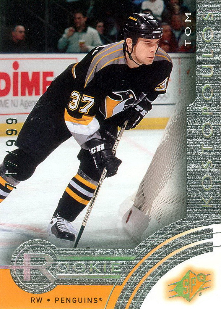 Tom Kostopoulos Player S Cards Since 2001 2009
