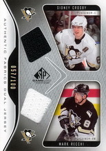 Penguins Pittsburgh 2006 Upper Deck SP Game Used AF2RC
