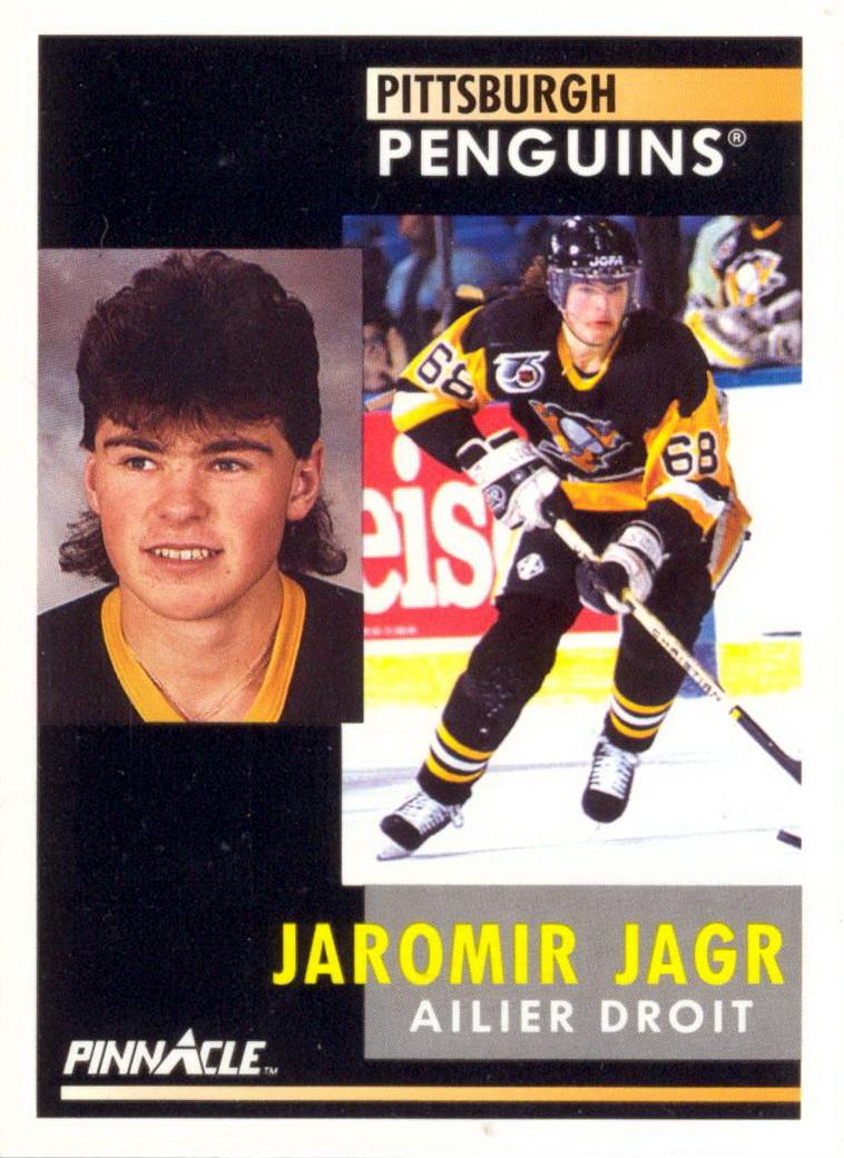 Jaromir Jagr Players Cards Since 1990 2015 Penguins